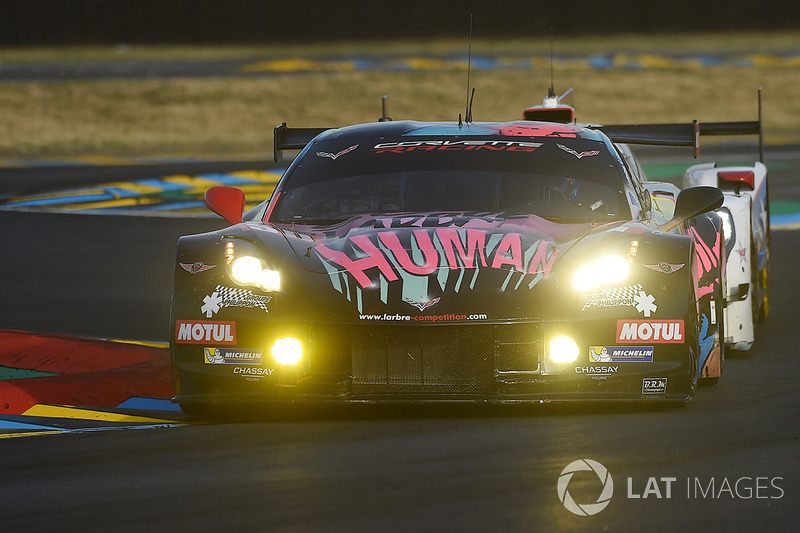 15. LMGTE-Am: #50 Larbre Competition, Corvette C7-Z06