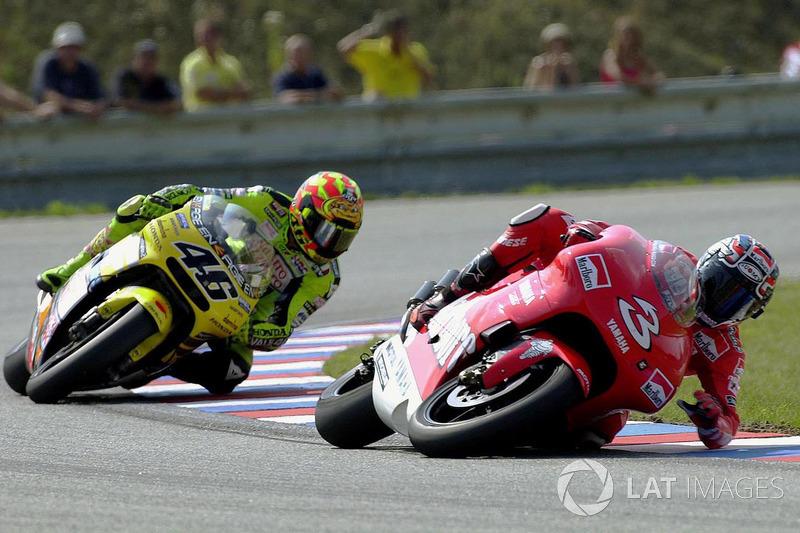 Brno 2001: la caída de Biaggi es significativa
