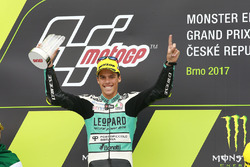 Podium: race winner Joan Mir, Leopard Racing