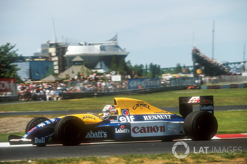 7. Williams FW14 Renault, Formula 1