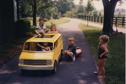 Nicky Hayden im Kindesalter mit seinen Geschwistern