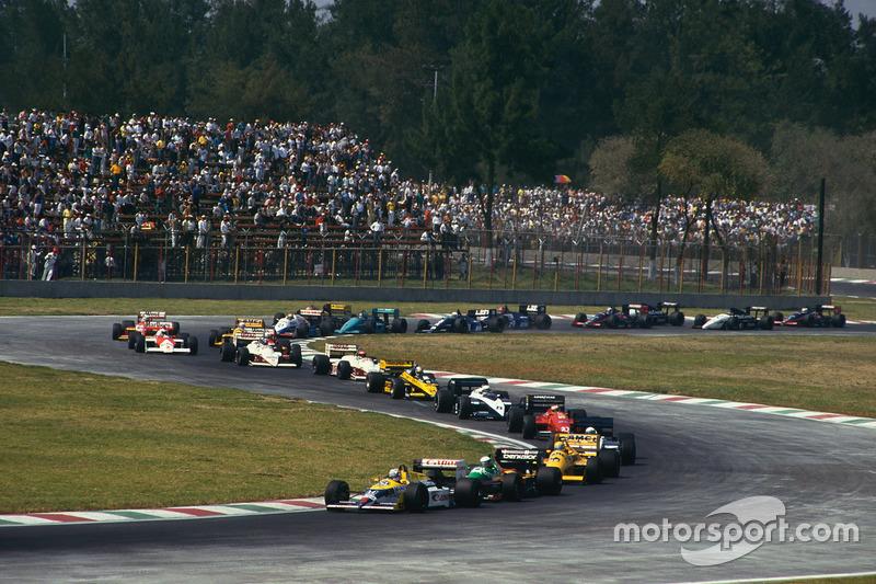 1987: GP de México por segunda vez