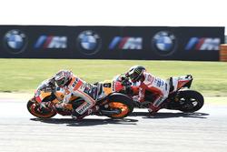 Marquez overtakes Jorge Lorenzo, Ducati Team