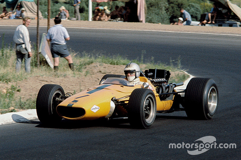 1967-1968: McLaren M5A BRM (одно пятое место, 10-е место в КК в 1967-м)