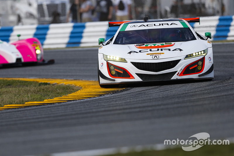 #93 Michael Shank Racing Acura NSX: Andy Lally, Katherine Legge, Mark Wilkins, Graham Rahaln