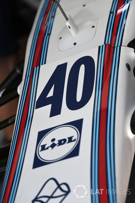 El número de Paul di Resta, Williams en el Williams FW40