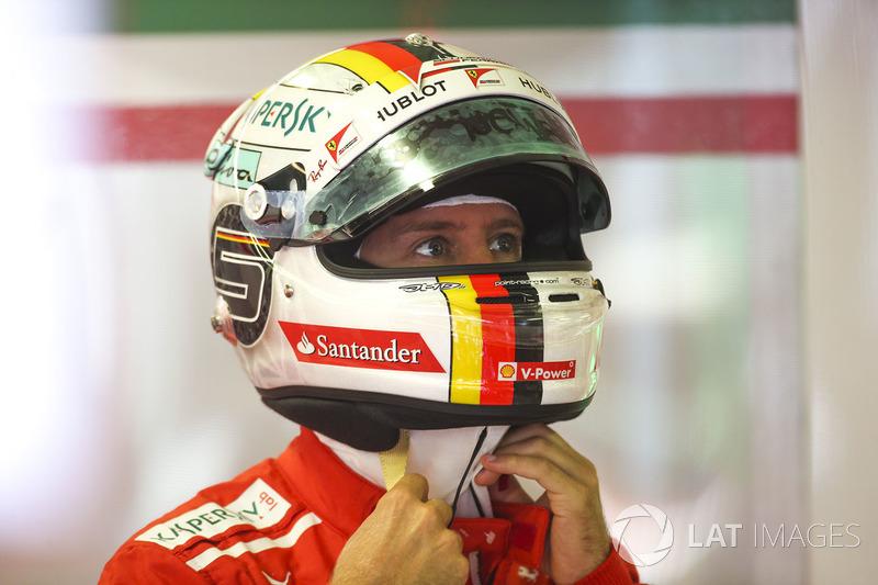 Hongrie - Sebastian Vettel