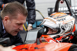 Jos Verstappen and Max Verstappen, Van Amersfoort Racing Dallara F312 - Volkswagen
