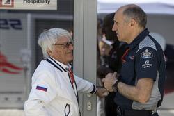 Bernie Ecclestone, Franz Tost, Scuderia Toro Rosso Team Principal