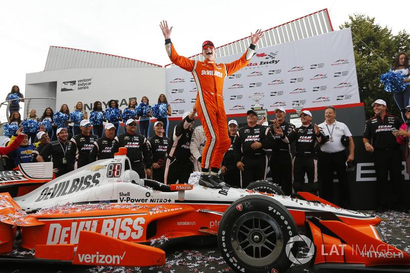 3. Yarış galibi Josef Newgarden, Team Penske Chevrolet