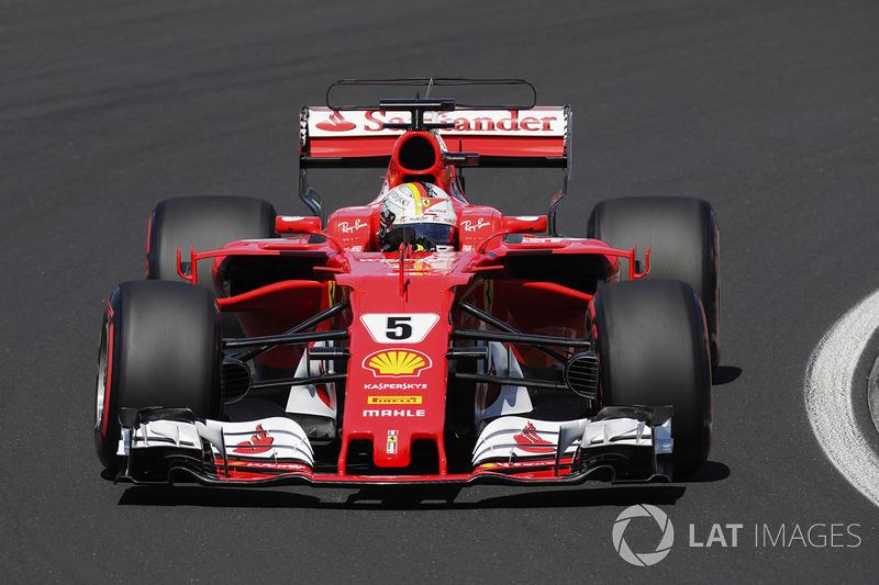 1. Себастьян Феттель, Ferrari — 202