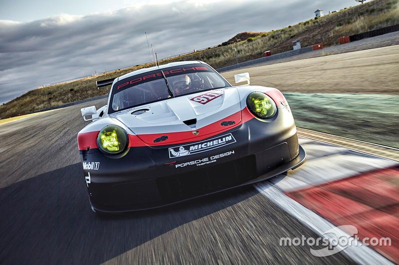 2017 Porsche 911 Rsr At 2017 Porsche 911 Rsr Unveiling