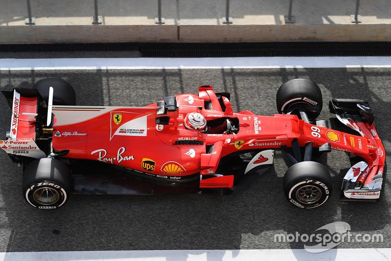 Общий вид Ferrari SF70H