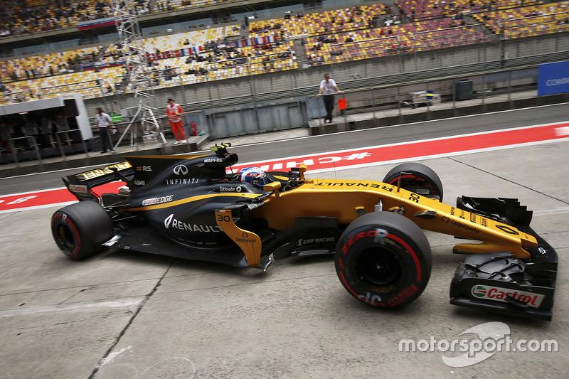 20 місце — Джоліон Палмер, Renault — 1