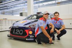 Andreas Mikkelsen y Anders Jäger, Hyundai Motorsport