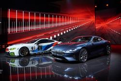 BMW M8 GTE con BMW 8-series