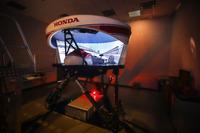 IndyCar-Rennsimulator von Honda Performance Development
