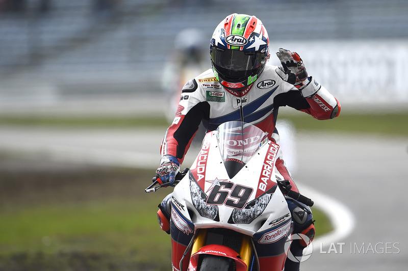 Tercer lugar Nicky Hayden, Honda World Superbike Team