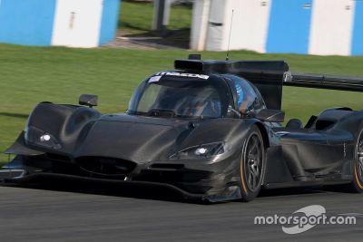Mazda Team Joest Donington test