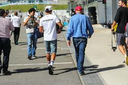 Niki Lauda, Mercedes AMG F1 Presidente no ejecutivo y Mercedes AMG F1 Lewis Hamilton