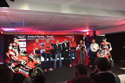 Team Ducati Vorstellung Marco Melandri und Chaz Davis