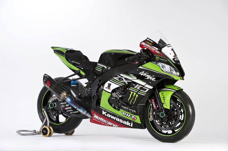 La moto di Jonathan Rea, Kawasaki Racing, Ninja ZX-10RR