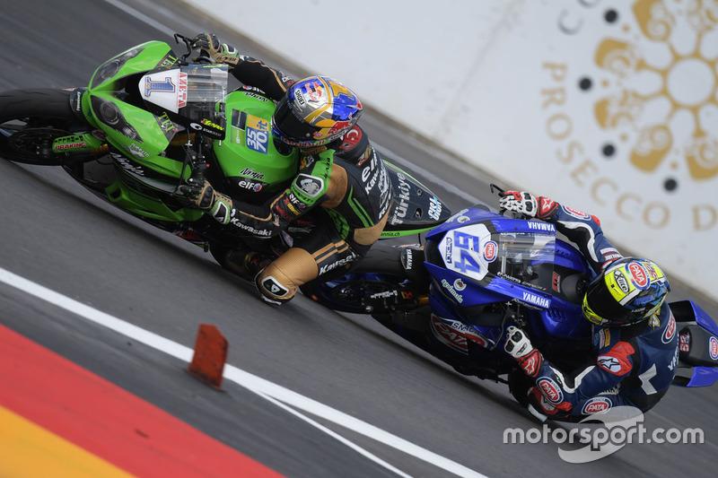 Kenan Sofuoglu, Kawasaki Puccetti Racing, Federico Caricasulo, GRT Yamaha Official WorldSSP Team