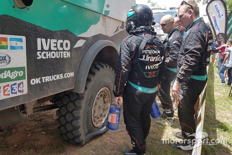 #500 Team De Rooy Iveco: Gerard de Rooy, Moises Torrallardona, Darek Rodewald