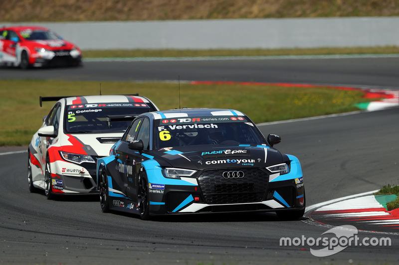Фредерік Фервіш, Comtoyou Racing, Audi RS3 LMS