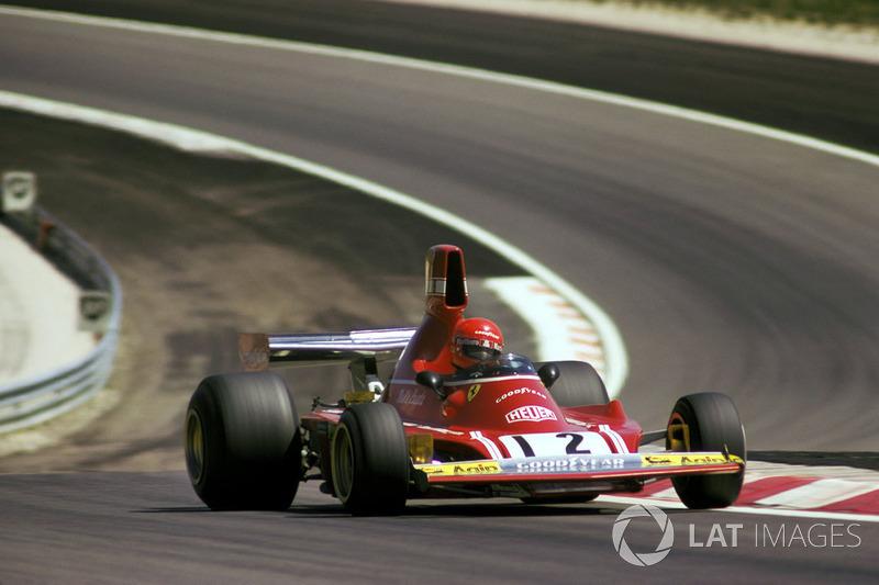 1º Niki Lauda, Ferrari 312B3, Dijon 1974. Tiempo: 58.790