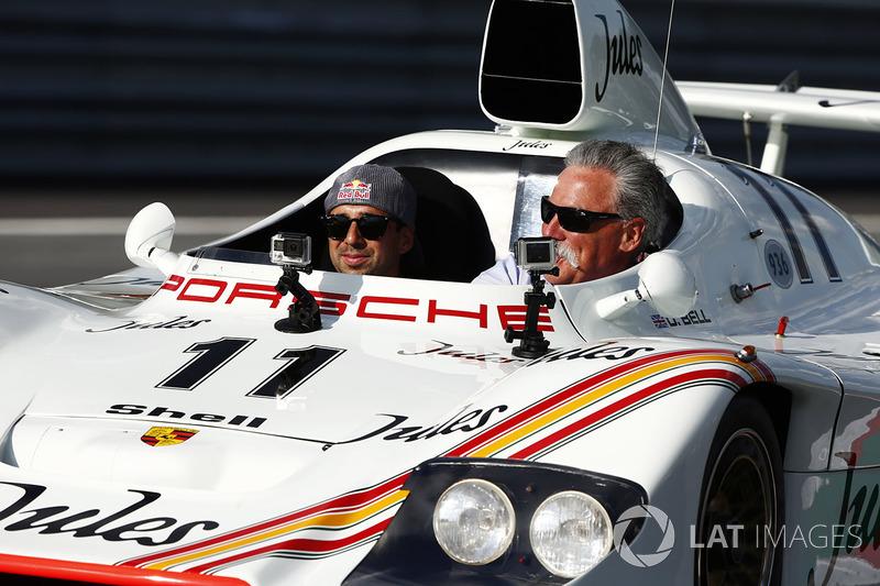 Керівник Ф1 Чейз Кері, Ніл Яні, 1981 Porsche 936