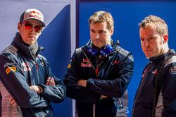 Daniil Kvyat, Scuderia Toro Rosso, James Key, Scuderia Toro Rosso Technical Director