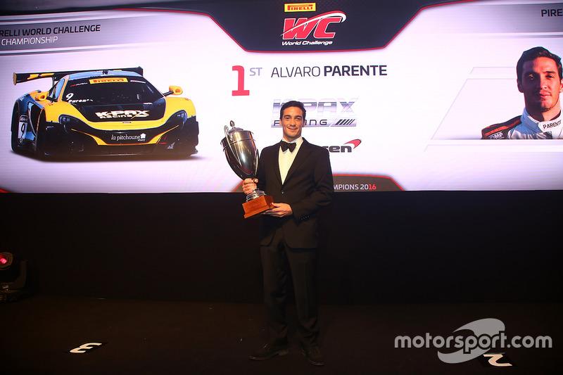 Campeón del desafío mundial de Pirelli, Alvaro Parente
