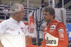 Rick Mears, Team Penske Chevrolet with Roger Penske