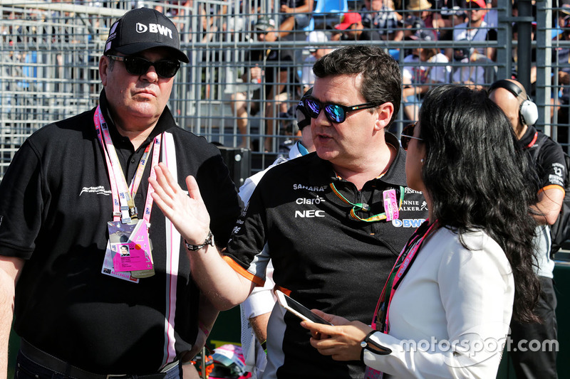 Steve Curnow, director comercial de Sahara Force India F1