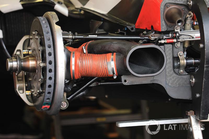 Тормоза Oreca 07 Gibson команды TDS Racing