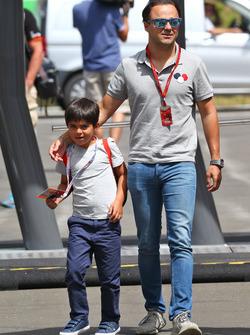 Фелипе Масса, Williams и его сын Фелипиньо