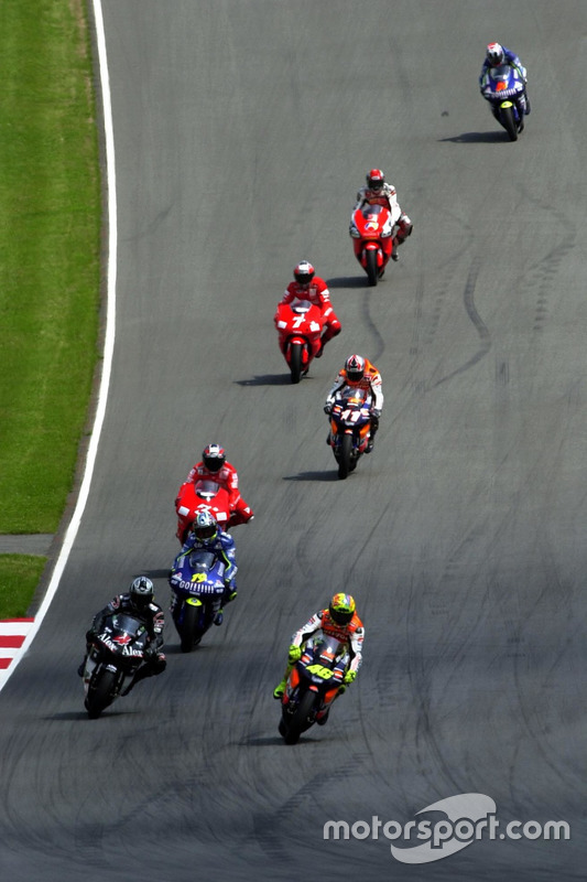 Valentino Rossi, Repsol Honda Team, en tête