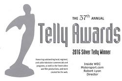 Silver Telly Award: Inside WEC