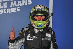 Le poleman du GTE #77 Proton Competition Porsche 911 RSR 991: Wolf Henzler