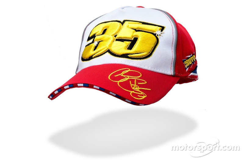 Casquette rouge #35 Cal Crutchlow