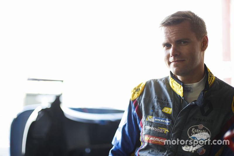 #9 Team Marc VDS, Renault RS01: Markus Palttala