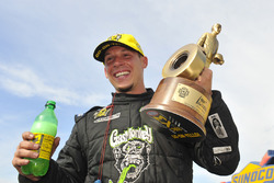 Pro Stock winner Alex Laughlin