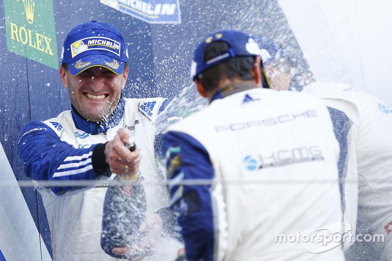 GTE-Am, 2. Platz: #78 KCMG, Porsche 911 RSR: Christian Ried, Wolf Henzler, Joël Camathias