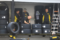 Pirelli tyres workers