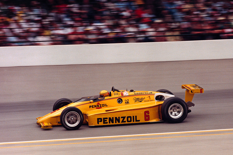 Le vainqueur Rick Mears, March/Cosworth