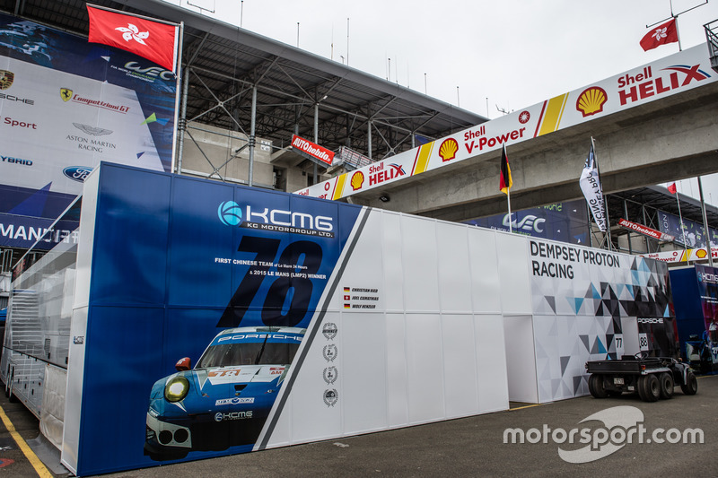 Зона KCMG Porsche 911 RSR