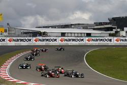 Max Defourny, Van Amersfoort Racing Dallara F317 - Mercedes-Benz, David Beckmann, Motopark, Dallara F317 - Volkswagen