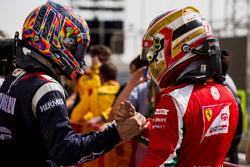 Le vainqueur Artem Markelov, RUSSIAN TIME, le troisième Charles Leclerc, PREMA Racing
