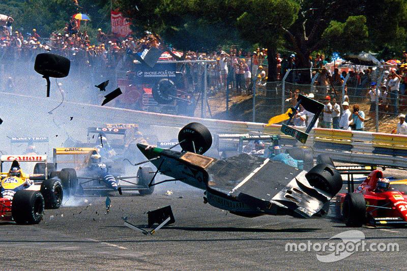 5. El March CG891 de Fórmula 1